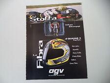 advertising Pubblicità 1995 CASCO HELMET AGV QUASAR 2 BIAGGI