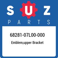 68281-07L00-000 Suzuki Emblem,upper bracket 6828107L00000, New Genuine OEM Part