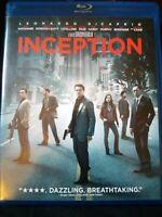 Inception (Blu-Ray/DVD, 3 Disc Set, 2013)