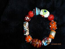 Nepalese bracelet with coloured stones (NEW)