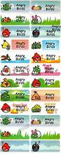 Personalized Waterproof Name label sticker, Birds Qty20 Large