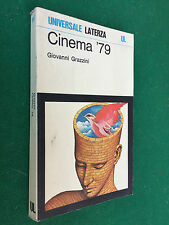 Giovanni GRAZZINI - CINEMA '79 Film più significativi , Ed. Laterza (1980) Libro