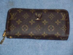 Louis Vuitton Monogram Double Zip Around Long Wallet - NEW