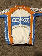 Capoforma Zoom Multisports Cycling Jersey Size Large Zip Up With Pockets
