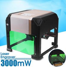 3000mW USB Mini Laser Engraver Printer Cutter Carver DIY Mark Graviermaschine