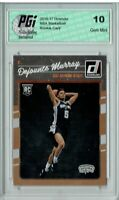 Dejounte Murray 2016-17 Donruss Basketball #173 Rookie Card PGI 10