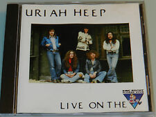Uriah Heep - Live on the King Biscuit Flower Hour - RARE 1974 Live Recording cd