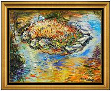 Sheldon Schoneberg Original Painting Oil On Canvas Landscape Signed Artwork SC