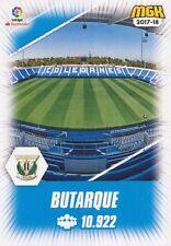 346 BUTARQUE ESPANA CD.LEGANES ESTADIO STADIUM CARTA CARD MGK 2018 PANINI