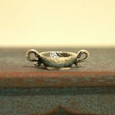 Miniature Sterling Silver Bowl Dollhouse 1:12 Artist Obadiah Fisher