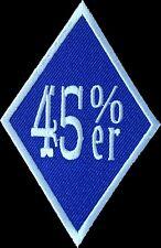 Scottish Independence 45%er biker indy motorbike patch Scotland - 1%er style