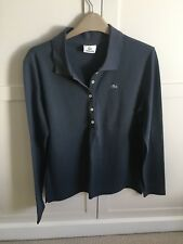 Lacoste polo Long Sleeve Womens Top Size 14