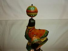 VINTAGE TIN TOY FRICTION JAPAN - SEAL PLAYING with A BALL - H9.5cm - NICE
