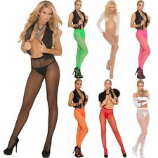 Fishnet Pantyhose Plus & One Size 7 Colors 2 Choose Costume Adult Woman Clothing