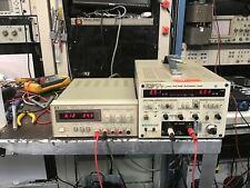 Hp E3630a Triple Dc Power Supply 6v 25a Amp 20v 05a Load Tested
