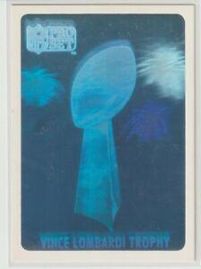 1990 Pro Set Vince Lombardi Trophy Hologram - Collector Edition #ed 1837/10000