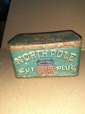 Vintage Original North Pole Tobacco Tin Can