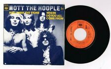 """MOTT THE HOOPLE BOWIE  """"ROLL AWAY THE STONE"""" FRENCH 7""""  VERY RARE"""
