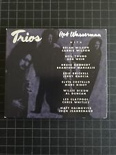 Trios CD Rob Wasserman Jerry Garcia Neil Young Brian Wilson Les Claypool Phish