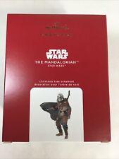 2020 Hallmark Star Wars The Mandalorian Ornament in Hand Ships Now QXI6034