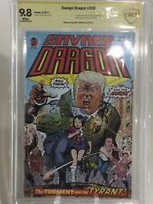 SAVAGE DRAGON #226 9.8 CBCS ASP Erik Larsen DONALD TRUMP COVER 1 on EBAY not CGC