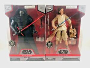 "Kylo Ren & Rey (set of two, 10"" figures) - Disney Store Elite Series - Star Wars"