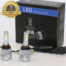 9005 H10 HB3 72W 8000LM LED Headlight Kit Buls High Beam Low Beam Fog Lamp S2
