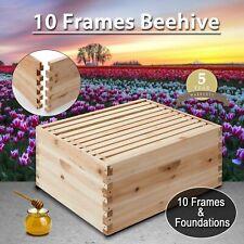 Beekeeping Kit Bee Hive House Frame Beehive 10 Deep 10-Frame Deep Size.!
