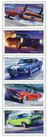 Muscle Cars Full Sheet of 20 Forever Postage Stamps Scott 4743-47