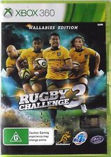 Rugby Challenge 3 Wallabies Edition Microsoft Xbox 360 Brand New & Sealed