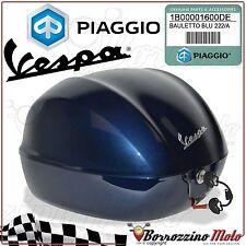 TOP-BOX 32LT BLUE 222/A OEM PIAGGIO VESPA PRIMAVERA 2T 50 2013 2014