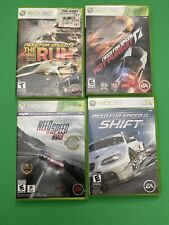 Need For Speed Games Xbox 360 Lot Of 4 The Run Rivals Hot Pursuit Shift