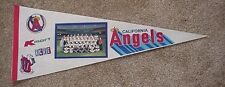 1986 CALIFORNIA ANGELS REAL PHOTO PROMO PENNANT RARE DISCOUNT SALE