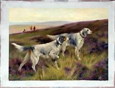 Ölbilder Ölgemälde Wardle, Arthur Two english setters on a grouse moor 60cmx80cm
