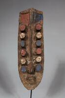 AI2 Grebo Glebo Maske Afrika Alt / Masque ancien Krou / Old african Kru mask