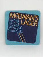Vintage McEwan's Lager Beer Coaster Bar Decoration Man Cave