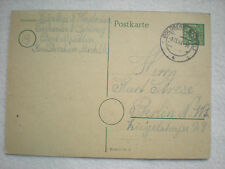Deutsches Reich  - Postkarte  6  Pfennig  1945