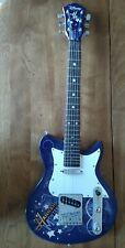 DISNEY by Washburn Hanna Montana Secret Star 6-string electric guitar purple