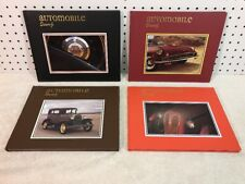 Automobile Quarterly Lot 4 Mismatched Hardbound Collectible Car Books, EXC COND!