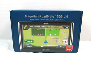 Magellan RoadMate 1700-LM GPS Unit Automotive Mountable (RM1700AGLUC)