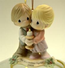 Precious Moments Ornament First Xmas Together Couple 2009 910004 Bx FreeusaShp