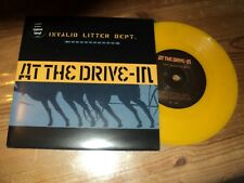 "AT THE DRIVE IN / INVALID LITTER DEPT - INITIATION (2001) 7"" rare SP !!!"