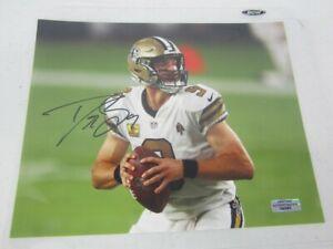 Drew Brees Hand Signed Autographed 8x10 Purdue  New Orleans Saints W/COA