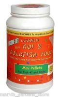 MICROBE LIFT LEGACY MINI PELLETS KOI GOLDFISH FOOD 2.8#