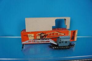 Marklin 4611 DB Crane CarBlue in Red Box 60-ies OVP