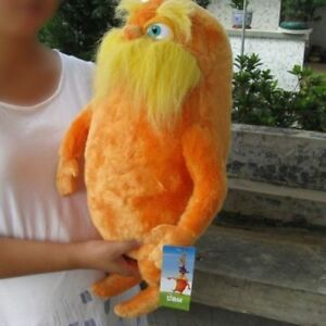 """Large 12"""" Dr. Seuss The Lorax 20inches Lorax Plush Toy doll New"""