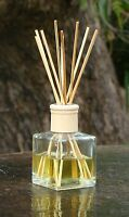 SEA SALT CARAMELS Scented DIFFUSER AROMA REEDS in GLASS Fragranced Kitchen Gifts