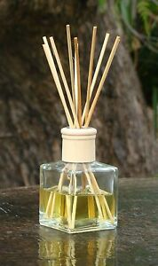 BLUE CYPRESS & JASMINE Diffuser Aroma Reeds in a Heavy Glass Jar Home Fragrances