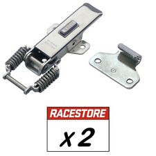 PROTEX Stainless Steel Spring Claw Toggle Latch with Safety Catch - 2 Pack