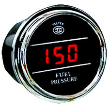 Teltek Fuel Pressure Gauge for  any semi, pick up ,Truck or Car with 0-300 PSI